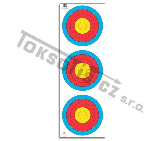 terč 3x20 cm reflexní luk