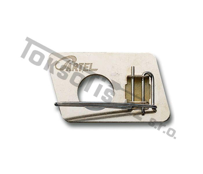 zakládka Cartel kovová RH/LH