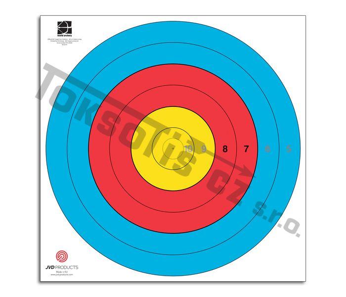 terč 80 cm redukovaný 6 kruhů