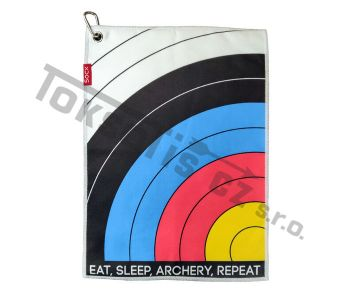 ručník Socx malý Eat Sleep Archery Repeat