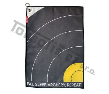 ručník Socx malý Eat Sleep Archery Repeat Field